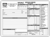 Hvac Work Order 8.5 x 7 (sku: 100022)